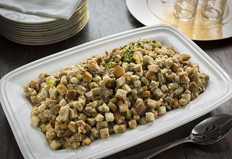 Holiday Slow Cooker Stuffing