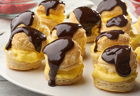 Boston Cream Puffs