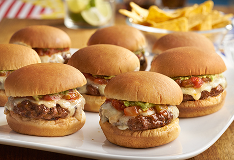 Tex-Mex Chipotle Sliders