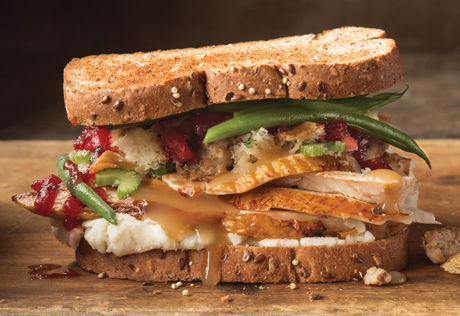 Thanksgiving Leftover Turkey Sandwiches