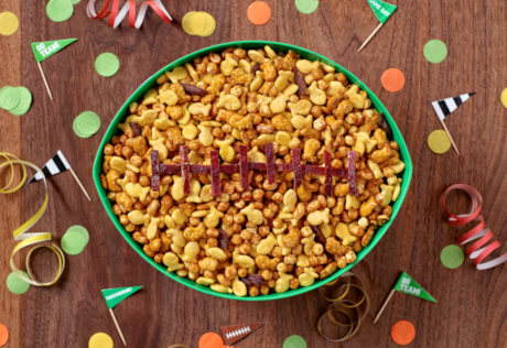 BBQ Honey Mustard Snack Mix