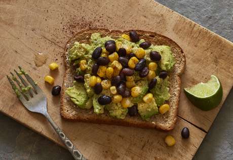 Mexican Avocado Toast