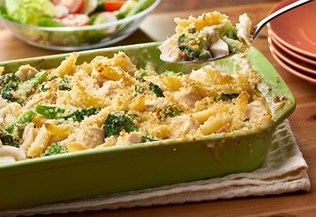 Https Www Campbells Com Kitchen Recipes Chicken Broccoli Alfredo Bake