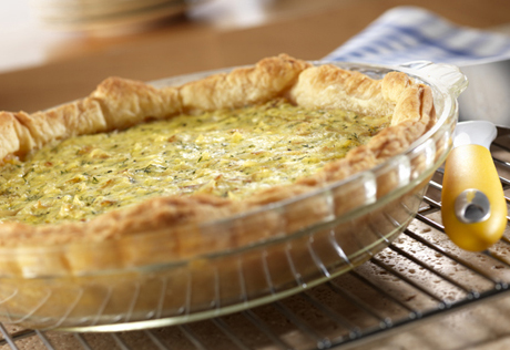 Puff Pastry Pie with Dilled Hash Browns