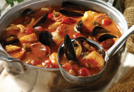 Spanish seafood stew for Recipe for seafood stew
