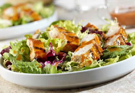 Grilled asian chicken salad recipe