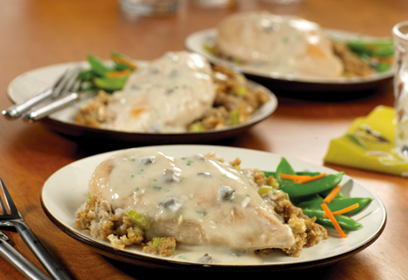 Chicken breast stuffing recipes baked