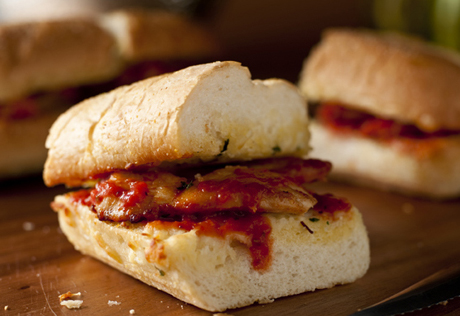 Chicken Mozzarella Sandwiches