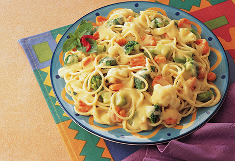 Vegetable pasta primavera recipe