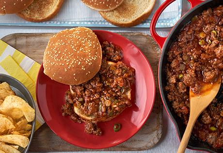 Picante Sloppy Joes