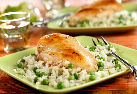 Campbell chicken rice recipe