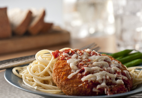 Baked Chicken Cutlets Parmesan