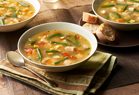 Hearty Chicken Vegetable Soup - Swanson Broth