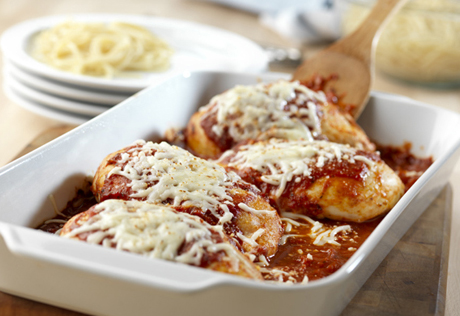 Quick and easy recipes for chicken parmesan