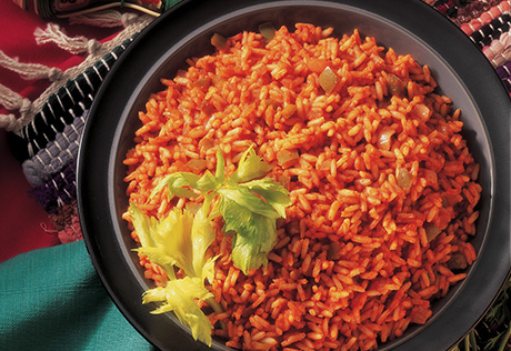 Fiesta Rice With Monterey Jack Cheese Recipe Campbell S Kitchen