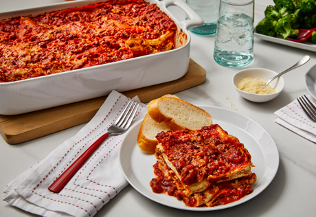 It's all about the layering when you make lasagna and is so easy when ...