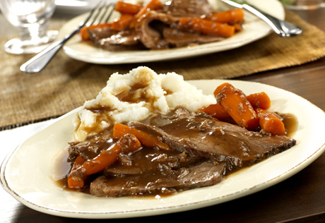 Campbell S Kitchen Crock Pot Recipes Pot Roast