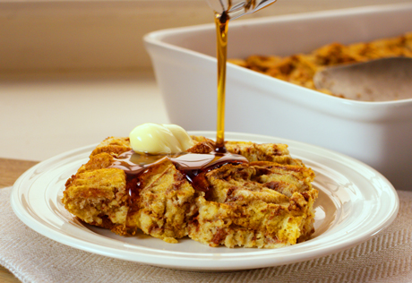 Cinnamon Swirl Baked French Toast