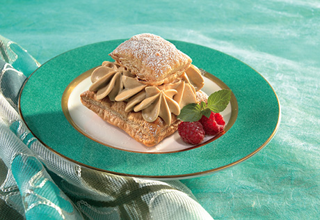 Cappuccino Mousse Timbales