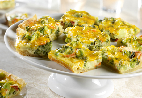Broccoli Quiche Bites