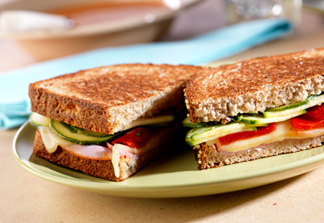 Toasted Antipasto Sandwiches