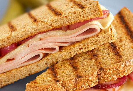 Hearty Ham and Onion Melts