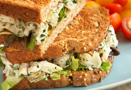 Crabmeat Salad Sandwiches