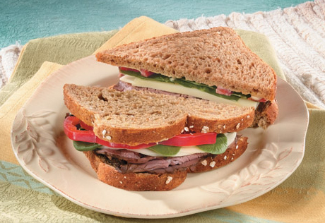 Roast Beef and Cheese Sandwiches