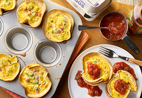 Quick Mini Quiche Cups