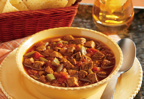 Smokin' Steak Chili
