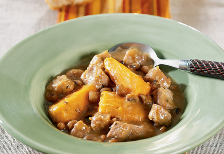 Hearty Slow Cooked Pork Stew