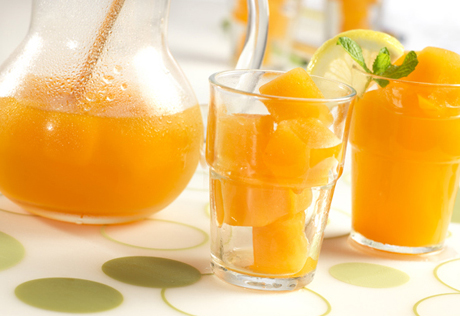 Frosted Citrus Green Tea