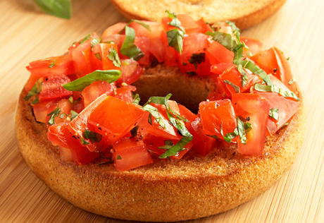 Bagel Bruschetta