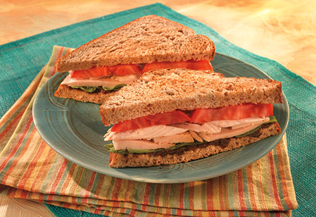 Roast Chicken Sandwiches with Tapenade