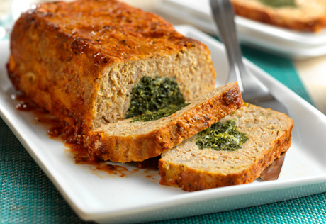 Florentine Turkey Meatloaf