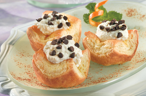 Heavenly Cannoli Tartlets