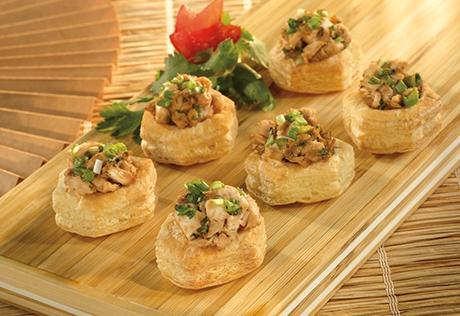 Chicken Satay Cups