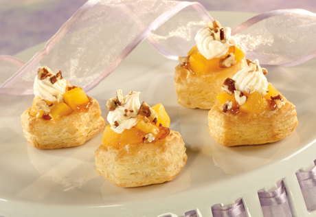 Peaches & Cream Cups