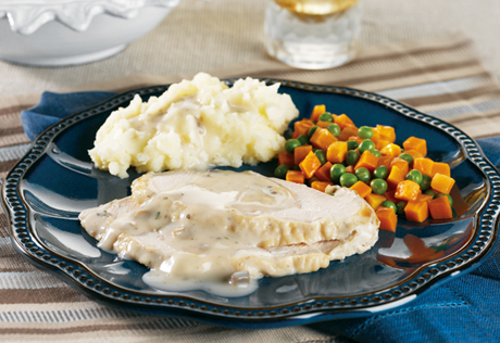 Slow Cooked Herbed Turkey Breast