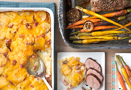 Country Scalloped Potatoes Recipe Campbell S Kitchen