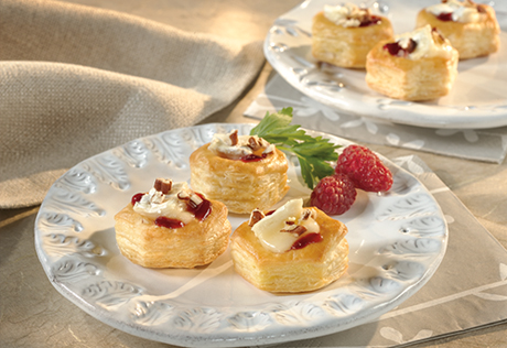 Baked Brie Cups