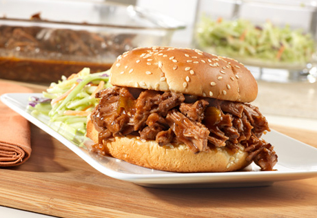 Slow Cooked Sweet & Spicy Barbecued Brisket