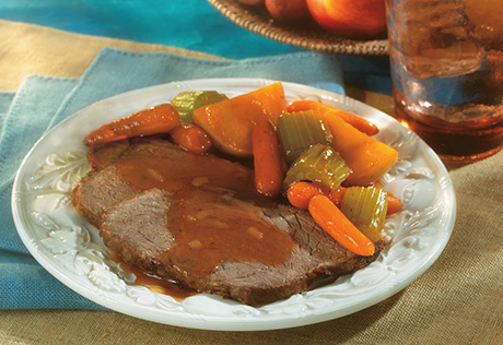 Savory Pot Roast with Harvest Vegetables