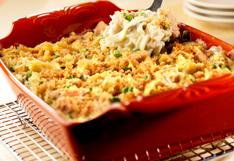 Party Size Tuna Noodle Casserole Recipe Campbell S Kitchen