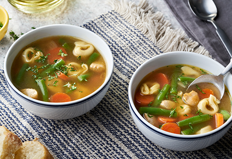 Chicken & Tortellini Soup
