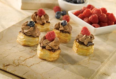 Chocolate-Dipped Mascarpone Cups