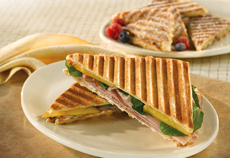 Sweet and Savory Paninis