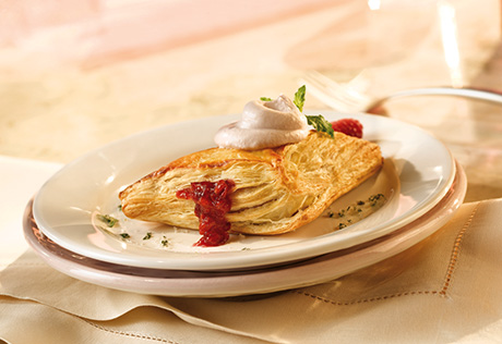Pretty in Pink Cherry Turnovers