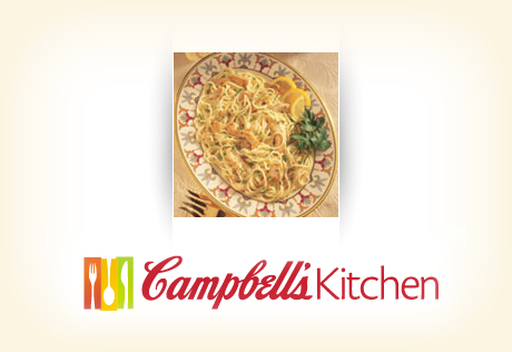 Lemony Chicken Capellini with Spinach