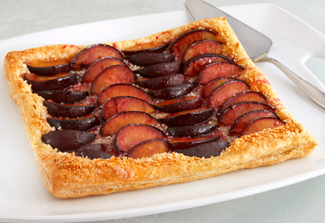 Caramelized Plum Tart